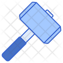 Hammer Law Tool Icon
