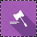 Hammer Law Court Icon