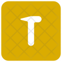 Construction Hammer Tool Icon