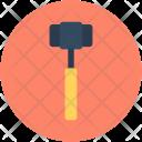 Hammer Sledge Nail Icon