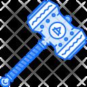 Hammer Weapon Viking Icon