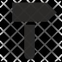 Work Impact Hammer Icon