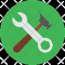 Hammer Wrench Workshop Icon