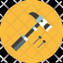 Hammer Screw Nut Icon