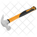 Claw Hammer Carpentering Icon