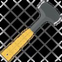 Blacksmith Symbol Hammer Hand Tool Icon