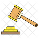 Hammer Justice Table Icon