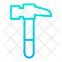 Claw Hammer Tool Construction Tool Icon