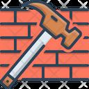 Hammer And Bricks Hammer Bricks Icon