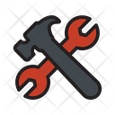 Construction Hammer Repair Icon