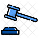 Hammer Justice Business Icon