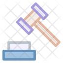Hammers Judge Court Icon