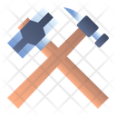 Hammers Gavel Helve Icon