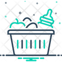 Hamper Baby Food Icon