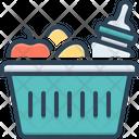 Hamper Baby Food Icon