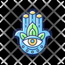 Hamsa Hand Icon