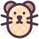 Spring Hamster Animal Icon