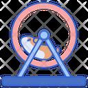 Hamster Wheel Pet Icon