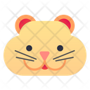 Hamster Pet Face Icon