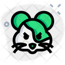 Hamster Pouting Icon
