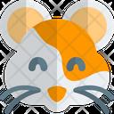 Hamster Smiling Animal Wildlife Icon