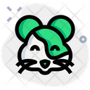 Hamster Smiling Icon