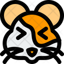 Hamster Squinting Icon