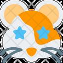 Hamster Star Struck Icon