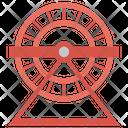 Hamster Wheel Cogwheel Exercise Icon
