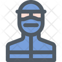 Doctor Protection Mask Icon