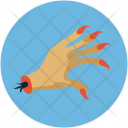 Hand Finger Lady Icon