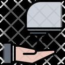 Hand Dryer Bathroom Icon