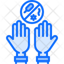 Hand Washing Bacterium Icon
