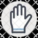 Hand Glove Construction Icon
