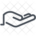 Hand Share Aims Icon