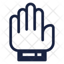 Hand Hold Stop Icon