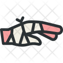 Hand Bandage Fracture Icon