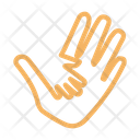 Hand Care Baby Icon