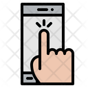 Hand Finger Tap Icon