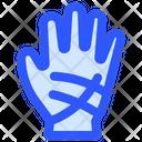 Film Hand Hand Gloves Icon