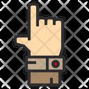 Hand Target Seo Icon