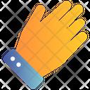 Hand Glove Winter Icon