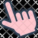 Seo Hand Click Icon