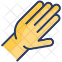 Hand Gesture Touch Icon