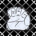Hand Gesture Finger Icon