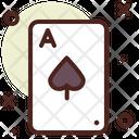 Hand Ace Card Card Icon