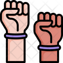 Hand Fist Power Icon
