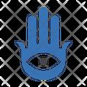 Hand Muslim Sign Icon