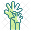Hand Father Heart Icon