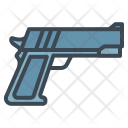 Hand Gun 9 Mm Icon